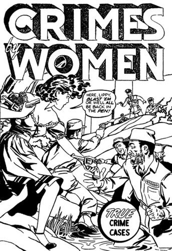 crimes women comics black and white art clip art adult coloring page image download graphics bad girls comics art printables