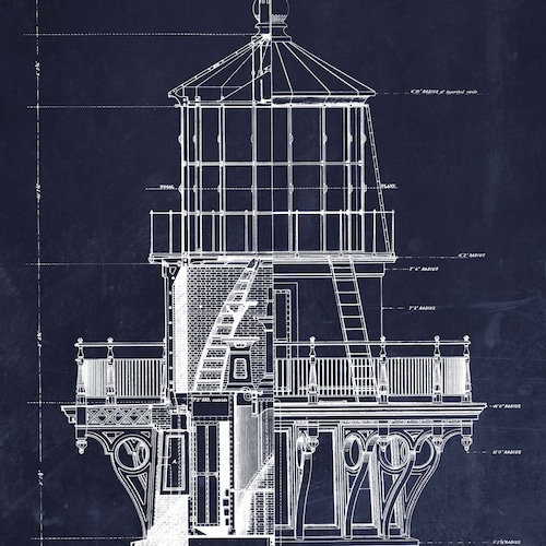 Architectural Blueprint And Patent Art For Your By ScarletBlvd