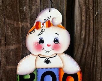 BOO Ghost Ornament