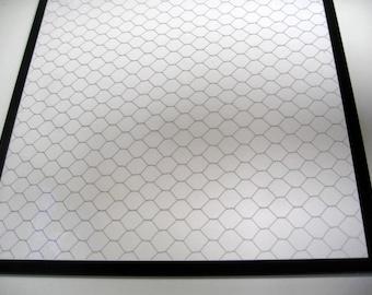 Silver Coop Wire..Magnet Dry Erase Memo Board / Housewarming Gift / Office Decor / Dorm /Organization / Wall Decor / Message Board / Desk
