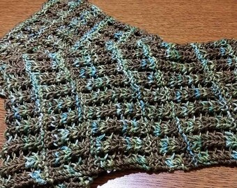Pattern for Lace Scarf in Ruca