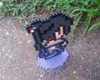 Final Fantasy 10 X // Standing Lulu Figure // Unofficial Final Fantasy Art // Geeky Video Game Gift // Stocking Stuffer