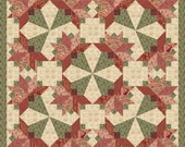 Tussy Mussie Paper Piece Quilt Block PDF by MadCreekDesigns