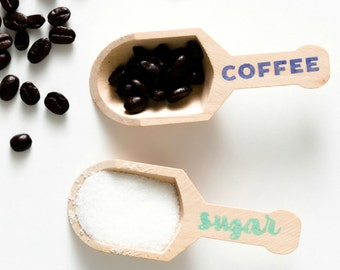 Sugar & Coffee Scoop Set