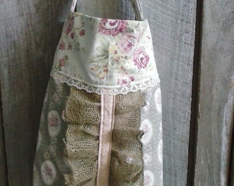 roses and lace tote