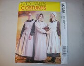 New McCall's Misses' Pioneer Costume Pattern M7220 (8-10)  (Free US Shipping)