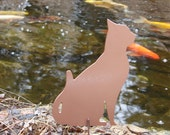 Pet Cat Memorial GARDEN STAKE Yard Lawn Kitty Feline 3