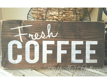 Coffee Sign, Coffee Decor, Coffee Bar Sign, Coffee Bar Decor, Coffee Art, Rustic Coffee Sign, Rustic Coffee Bar, Farmhouse Coffee Sign