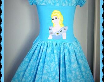 Cinderella Dress RTS Size 7