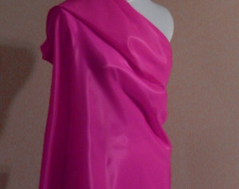 Hot pink lining fabric