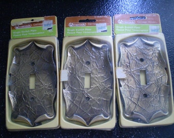 Vintage New In Package Single Toggle Light Switch Plate Carriage House Design