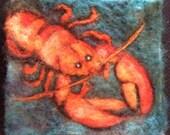 Lobstah Thyme Tile Needle Felting Kit