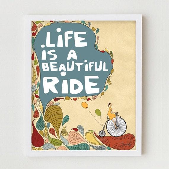 Bike Illustration Print Art, Giclee Print Antique Bike Wall Decor Vintage Bicycle Print, Bike Poster, Antique Bicycle Illustration Art Print