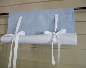 Chambray curtains – Etsy