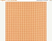 SALE Houndstooth in persimmon Somerset from Fig Tree & co for Moda 1 yard