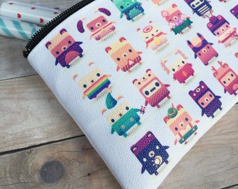 Alphabear Small Zipper Pouch