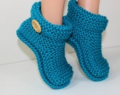 Children's Easy Boots knitting pattern by madmonkeyknits - Instant Digital File pdf download