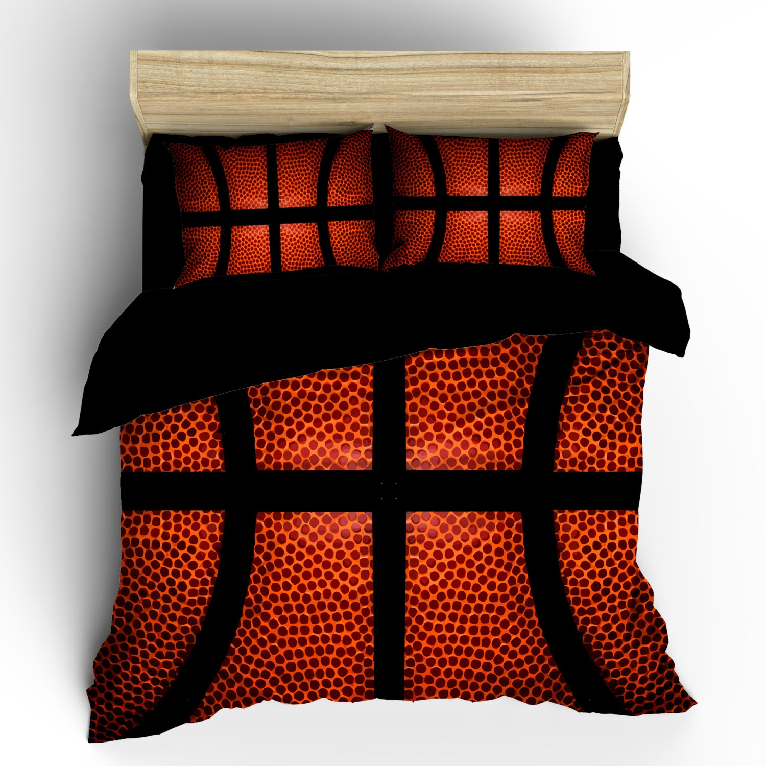 Basketball Bedding Custom Background Basketball Image Can