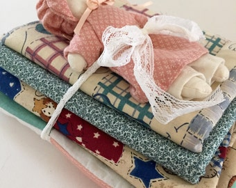 Fabric Lot Vintage Country Prints