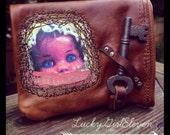 Custom Order Melisende Creepy Doll Wallet