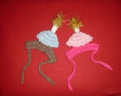 Birthday Candle or Cupcake pet hat - 2 to 20 lb dog or cat