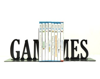 Games Metal Art Bookends - Free USA Shipping