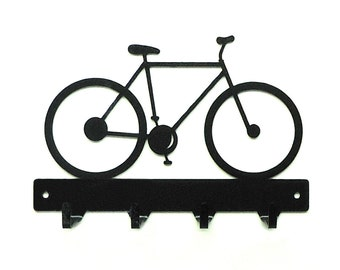 Bicycle Metal Art Key Rack - Free USA Shipping