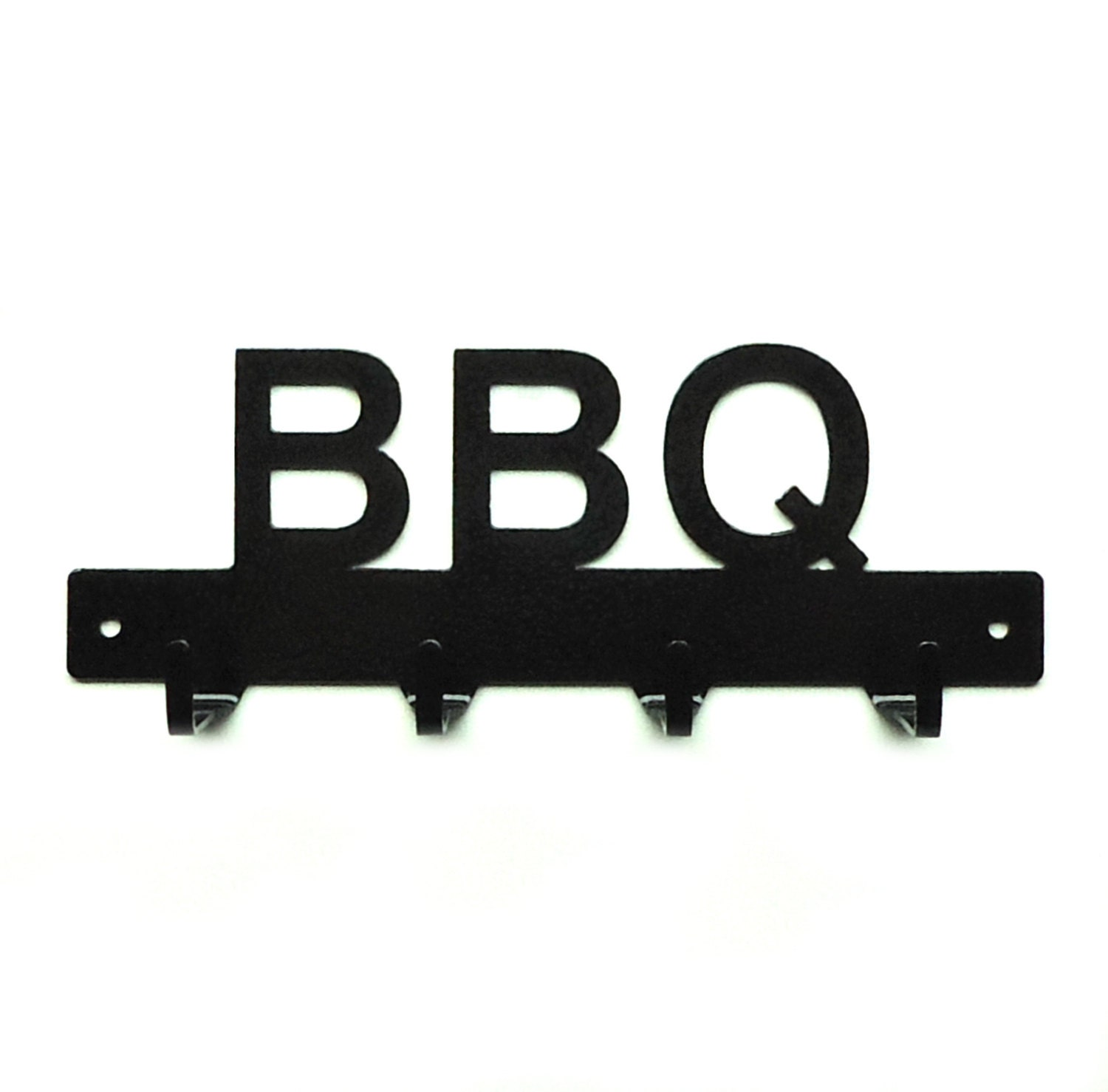 bbq grill utensil metal art rack free usa shipping. Black Bedroom Furniture Sets. Home Design Ideas