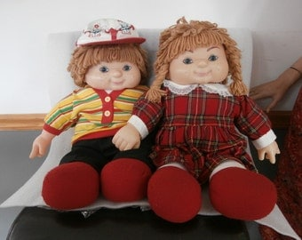 "Dolls House of Lloyd Dolls Heather & Glen Both  22"" Doll"
