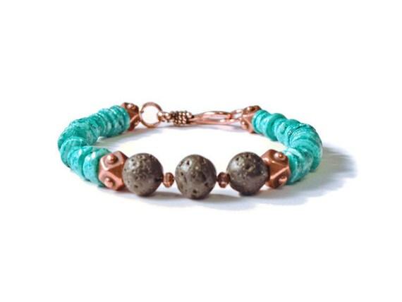 Aromath rapie huile essentielle diffuseur bracelet perles de - Huile essentielle machine a laver ...