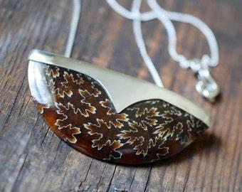 Autumn Relic Necklace