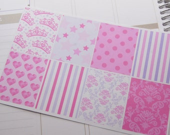 Princess Stickers Full Box Planner Stickers PS154 Fits Erin Condren eclp