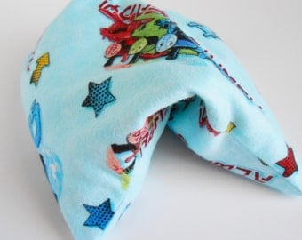 Blue Thomas the Train Boo Boo Bag for the Microwave or for the Freezer to Use as a Cold Pack 9x6 Baby Boy or Girls~ Hot and Cold Therapy