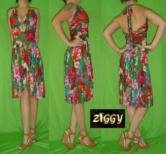 Custom Halter Dress in Prints