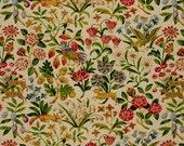 """2 Pieces SCHUMACHER FABRIC by Greeff """"Brayton Floral"""" in Ecru"""