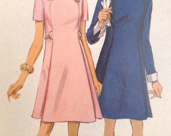 Vintage 1969 Simplicity 8406 Misses Dress