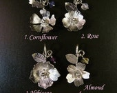 Little fairies I. Sterling Silver Pendants  Handmade Metalwork