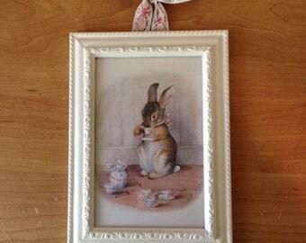 Beatrix Potter Peter Rabbit Framed Print for Girls