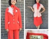 1960's 1970's Four Piece Lilli Ann Suit