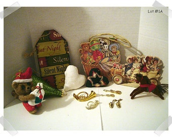 Christmas Craft Supplies/Assorted Lot (#11)/ Holiday Crafts**
