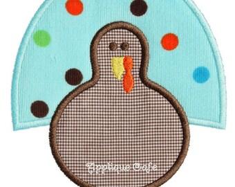 873 Turkey 9 Machine Embroidery Applique Design