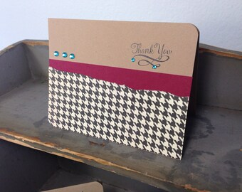 Classic Chic Thank You Card