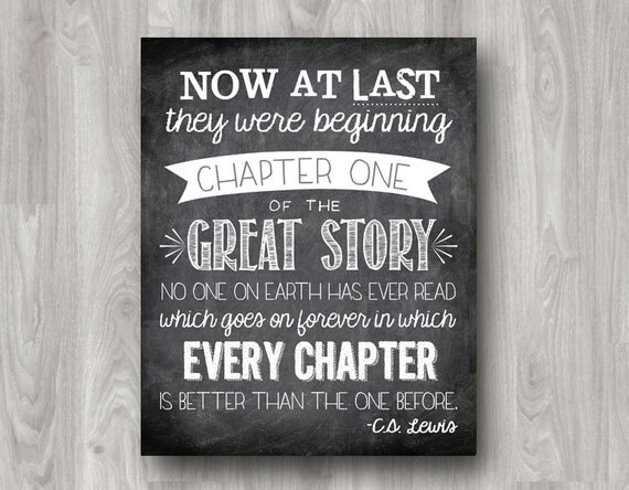 Now At Last They Were Beginning Chapter One C.S. Lewis