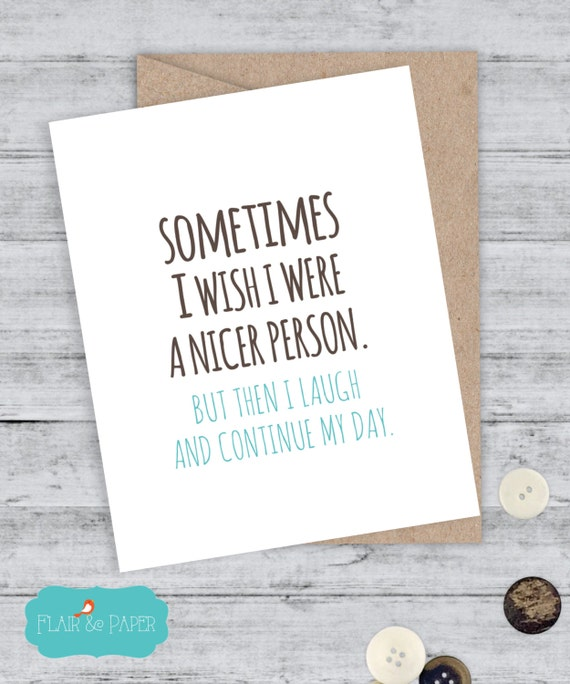 I Love You Card Boyfriend Card Awkward Card Snarky Card: Funny Boyfriend Card Funny Snarky Card Awkward By