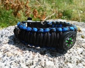 Deluxe & Loaded PARACORD SURVIVAL Wrist BAND
