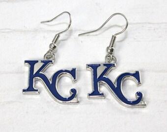 KC Royals Dangle Earrings