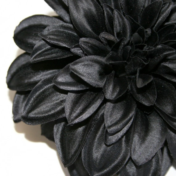 Black Magic Silk Dahlia - Artificial Flower
