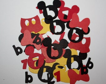 Customizable Mickey Mouse Confetti