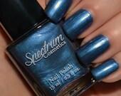 AZRIEL Blue shimmer Halloween  Nail Polish