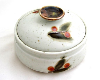 BITTERSWEET OTAGIRI STONEWARE Covered Casserole with Vented Lid Smaller Size Japan